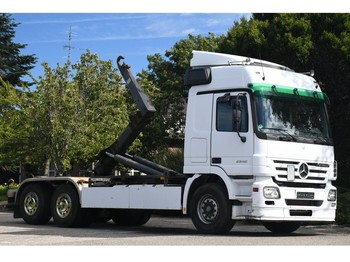 Hook lift truck Mercedes-Benz ACTROS 2546 !!3-PEDALS!!HOOKLIFT PALFINGER!!