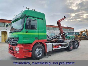 Hook lift truck Mercedes-Benz * ACTROS 2546 * 6x2 * ABROLLKIPPER * LIFTACHSE *