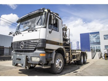 Hook lift truck Mercedes-Benz ACTROS 2635 K - ATLAS 170.2