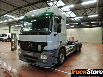 Hook lift truck Mercedes-Benz ACTROS 2644 L Abrollkipper mit Haken L-Fhs Euro5