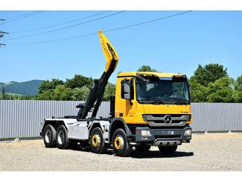 Hook lift truck Mercedes-Benz ACTROS 3241 Abrollkipper 6,20m *8x4*Top Zustand!