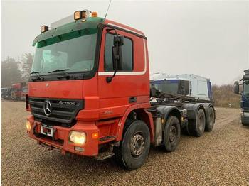 Mercedes-Benz ACTROS 3244 - SOON EXPECTED - 8X4 FULL STEEL HUB  - hook lift truck