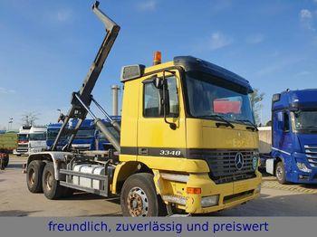 Hook lift truck Mercedes-Benz * ACTROS 3348 * MEILLER  * 6x4 * BLATT & BLATT *