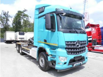 Mercedes-Benz AROCS 2645 6X2 Abrollkipper 2015 TOP  - hook lift truck