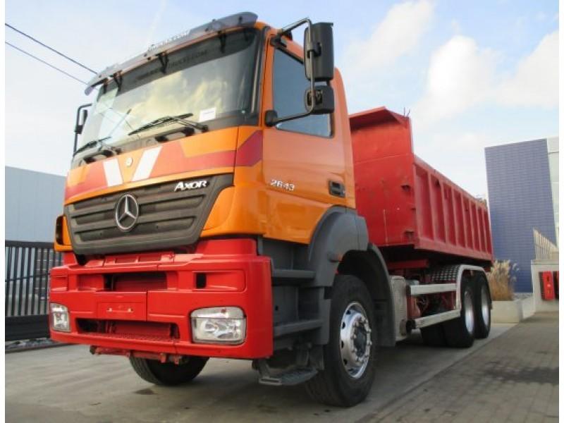 Mercedes Benz Axor 2643 Kipper Containersysteem Trekker Hook