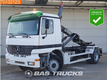 Hook lift truck Mercedes-Benz Actros 1835 4X2 Manual Big-Axel Steelsuspension Euro 2