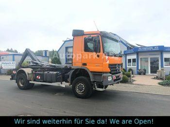 Hook lift truck Mercedes-Benz Actros 1841 Abrollkipper Palift Klima 4x4