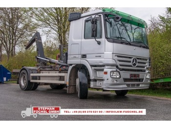 Hook lift truck Mercedes-Benz Actros 1846L Abroller Meiller RK 13.55