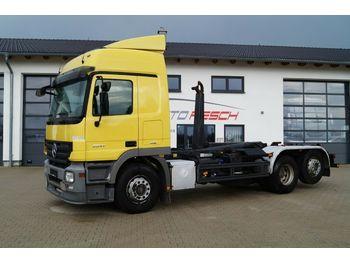 Hook lift truck Mercedes-Benz Actros 2541 L 6x2 MP2 Euro 5 Meiler Abroller