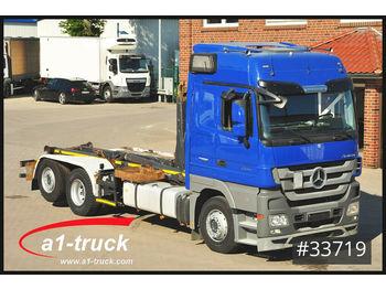 Hook lift truck Mercedes-Benz Actros 2544 BL Retarder Meiller FIN L 698..