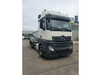 Hook lift truck Mercedes-Benz Actros 2545 HIAB Abroller Bigspace  E6 Intarder