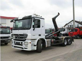 Hook lift truck Mercedes-Benz Actros 2546 L 6x2  Abrollkipper Meiller, Lift/Le