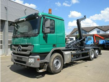 Hook lift truck Mercedes-Benz Actros 2546 L 6x2 Abrollkipper Retarder
