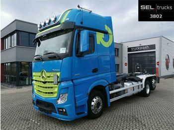Hook lift truck Mercedes-Benz Actros 2551/Meiller-Kipper/Standklima/Xenon/NAVI