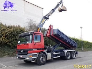 Hook lift truck Mercedes-Benz Actros 2635 Euro 2