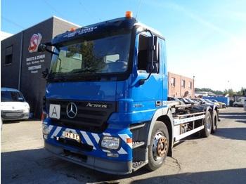 Hook lift truck Mercedes-Benz Actros 2636 6x4 belge TK mogelijk