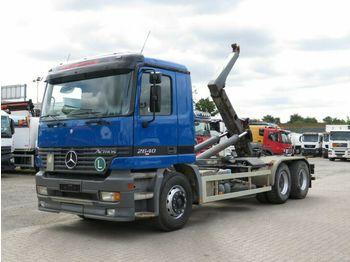 Hook lift truck Mercedes-Benz Actros 2640 K 6x4 Abrollkipper Meiller