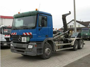 Hook lift truck Mercedes-Benz Actros 2641 6x4  Abrollkipper Meiller