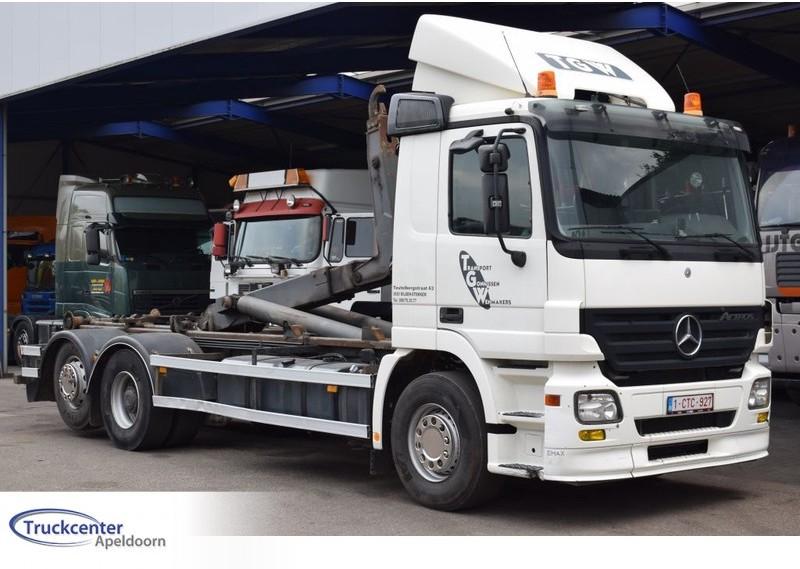 hook lift truck Mercedes-Benz Actros 2644 Euro 5, Reduction axle, 6x2, Truckcenter Apeldoorn