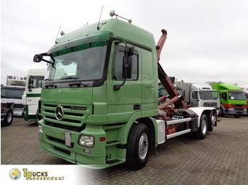 Hook lift truck Mercedes-Benz Actros 2646 + 6x2 + 20TON hooksystem MEILLER