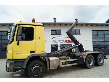 Hook lift truck Mercedes-Benz Actros 2646 MP3 6x4 Meiler Abrollkipper