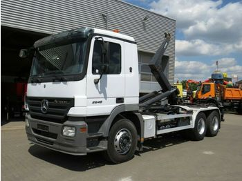 Hook lift truck Mercedes-Benz Actros 2648 6x4 Abrollkipper: picture 1