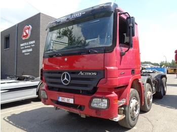 Hook lift truck Mercedes-Benz Actros 3241 8x4 lames/Steel