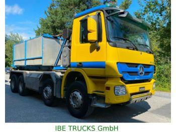Hook lift truck Mercedes-Benz Actros 3244 8x4, MP3, EPS, E5, Trösch Abroll