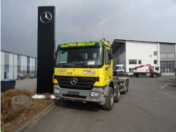 Mercedes-Benz Actros 3246 8x4 Abrollkipper/Hakenlift Atlas  - hook lift truck