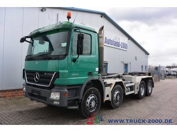 Hook lift truck Mercedes-Benz Actros 3246 8x4 Knick-Schub Haken 25 t Retarder