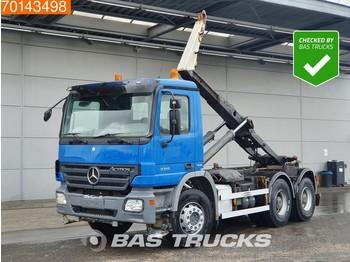 Hook lift truck Mercedes-Benz Actros 3341 6X4 Big-Axle Steelsuspension 3-Pedals Euro 4