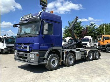 Hook lift truck Mercedes-Benz Actros 3348 L 8x2/2 Abrollkipper