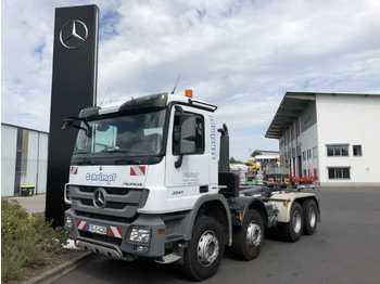 Hook lift truck Mercedes-Benz Actros 3541 K 8x4 Abrollkipper Meiller