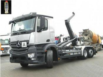 Hook lift truck Mercedes-Benz Antos 2745 6x2 Abrollkipper Meiller, Lift/Lenk