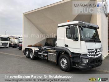 Hook lift truck Mercedes-Benz Arocs 2546L 6x2 /Meiller Abrollkipper RS21.70
