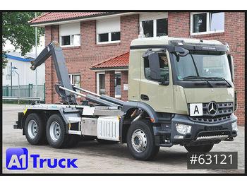 Hook lift truck Mercedes-Benz Arocs 2643, VDL, 6x4 Blatt/Blatt, Permantantrieb