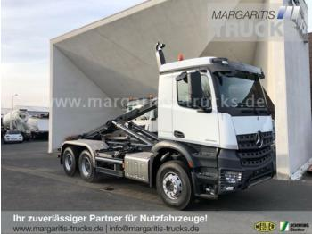 Hook lift truck Mercedes-Benz Arocs 2645 K 6x4+Meiller Abrollkipper RS 21.60