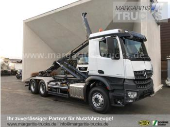 Hook lift truck Mercedes-Benz Arocs 2645 LK 6x4+Meiller Abrollkipper RS 21.70