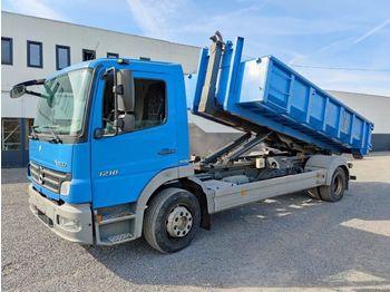 Hook lift truck Mercedes-Benz Atego 1218 Containerhaaksysteem Euro4
