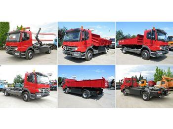 Hook lift truck Mercedes-Benz Atego 1529 L Wechselfahrgestell Wechselsystem
