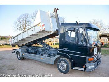 Hook lift truck Mercedes-Benz Atego 815 Abrollkipper Meiller NL 2,6to TÜV03/21