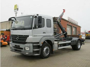Hook lift truck Mercedes-Benz Axor 1829 Abrollkipper 6 Sitzer org.89TKM