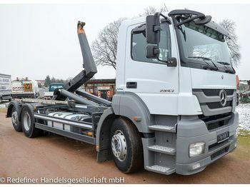 Hook lift truck Mercedes-Benz Axor 2543 KLIMA FUNK MEILLER 15to NL - TÜV