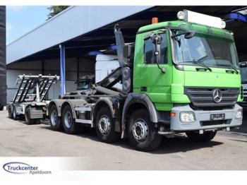 Mercedes-Benz Combi, Actros 3248, Euro 5, Steel springs, 8x4 - hook lift truck