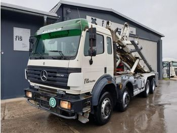 Hook lift truck Mercedes Benz SK 3538 K 8x4 ABROLL TIPPER - 4.5m