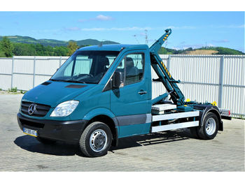 Hook lift truck Mercedes-Benz SPRINTER 515 CDI Abrollkipper 2,80m*Topzustand!