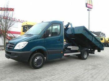 Hook lift truck Mercedes-Benz Sprinter 511 CDI Abrollkipper PalfingerCity-Lift