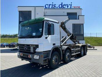 Hook lift truck Mercedes-Benz  VDL SK 21 6400 Abroller Hakengerät