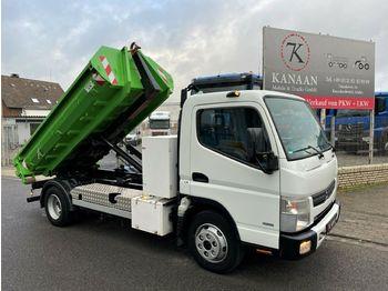 Hook lift truck Mitsubishi Fuso Canter Abrollkipper 4t Nutz 88Tkm