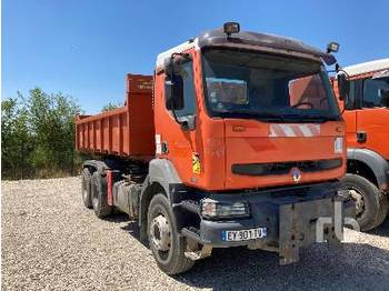 Hook lift truck RENAULT 370 DCI